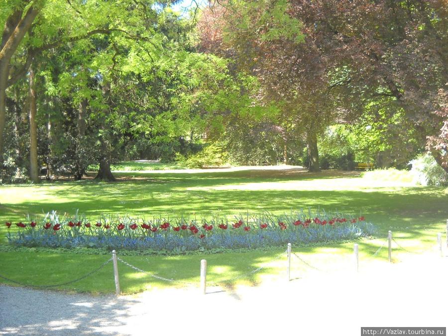 Один из пейзажей парка