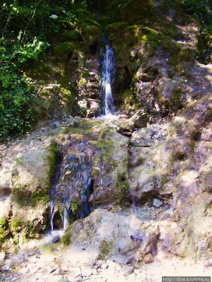 Сентябрь-2009. Поездка на Пшадские водопады. Пшадские водопады