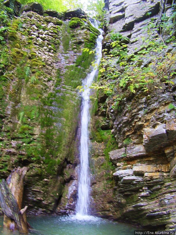 Сентябрь-2009. Поездка на Пшадские водопады. Большой Медвежий водопад