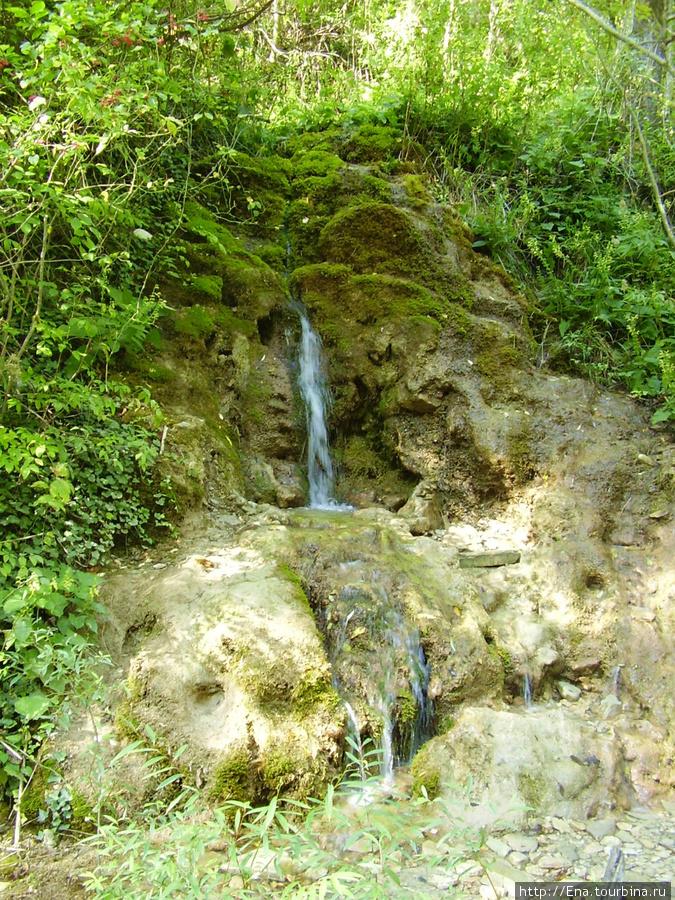 Сентябрь-2009. Поездка на Пшадские водопады. Водопад с