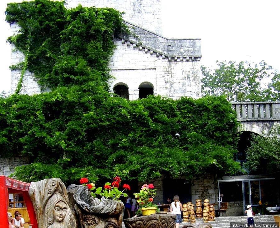 Июль 2006. Экскурсия в Сочи. На горе Ахун