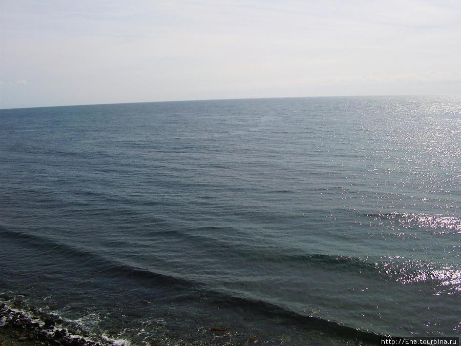 Сентябрь 2007. Поездка в Большой Утриш. Здесь очень чистое море