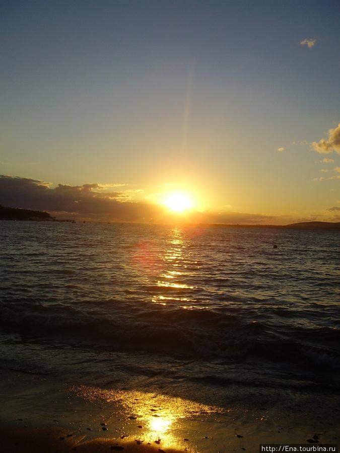 Сентябрь 2007. Экскурсия в Геленджик. Южный закат и прогулка по набережной