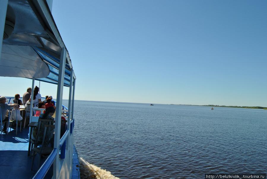 Выход в Ильмень озеро