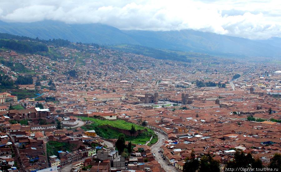 Обзор Куско с крепости Саксайуаман