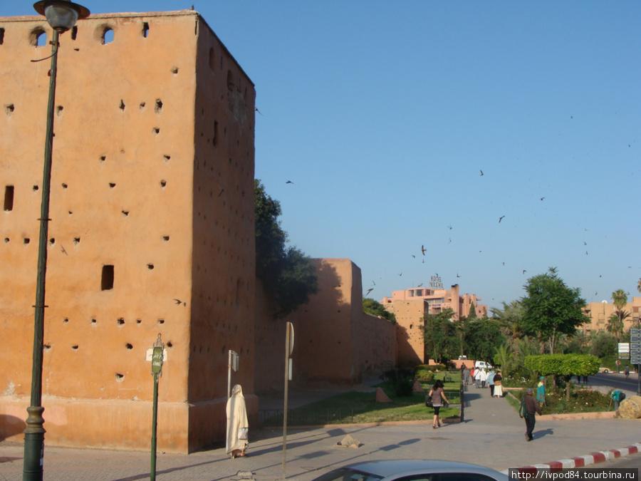 Крепостная стена Марракеш