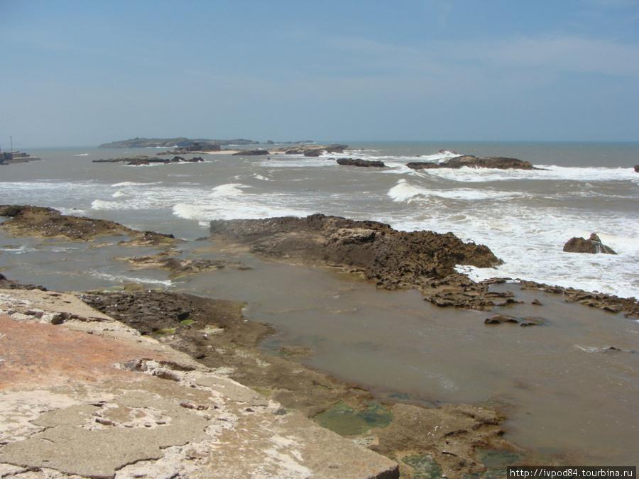 Побережье океана