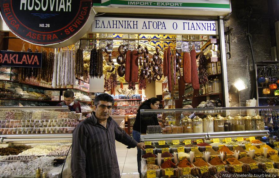 Греческая лавка на египетском рынке