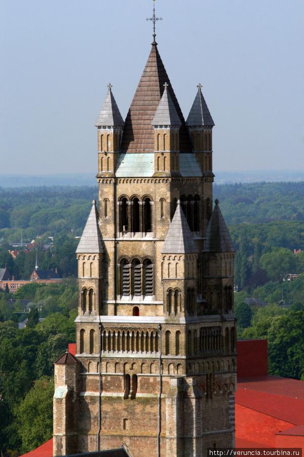 Виды Брюгге с башни