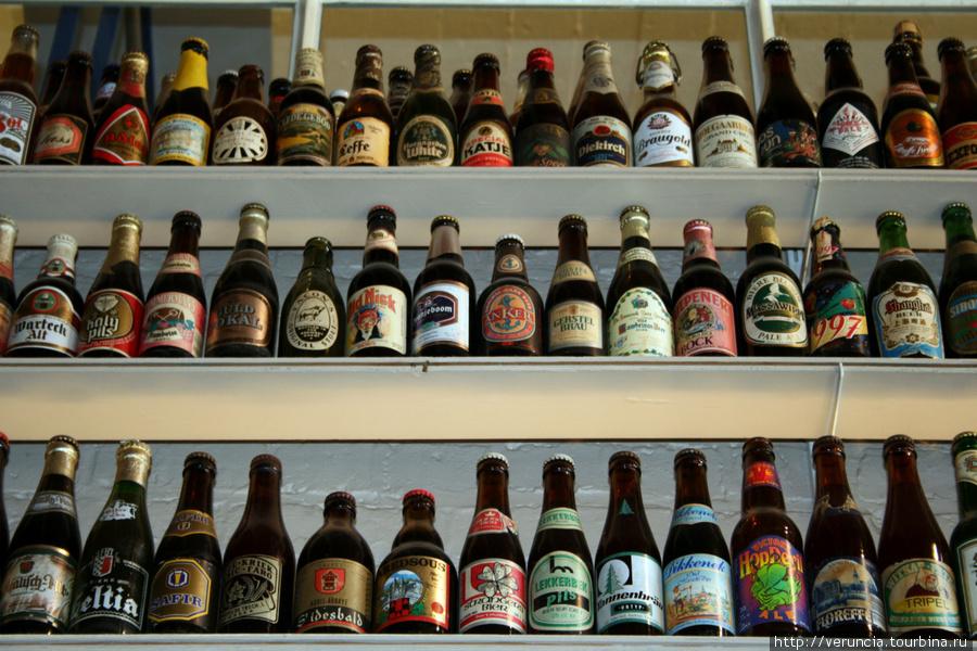 В старейшей пивоварне Бельгии