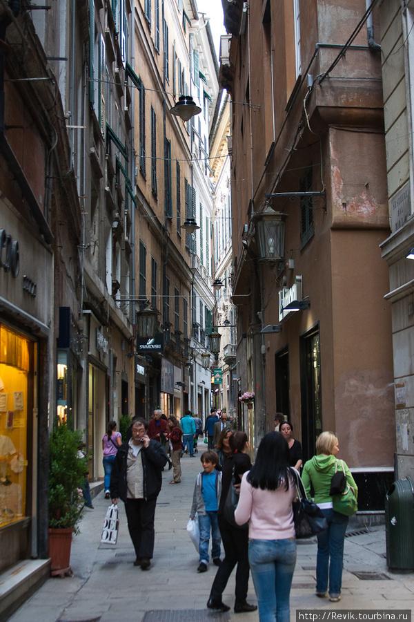 Стены улиц