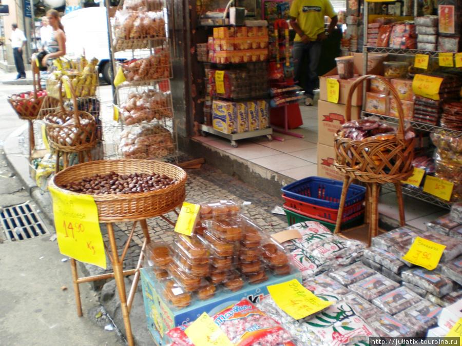 бесконечные сладости бразильцев-сладкоежек