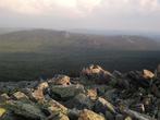 Хребет Малый Таганай с горы Круглица.
