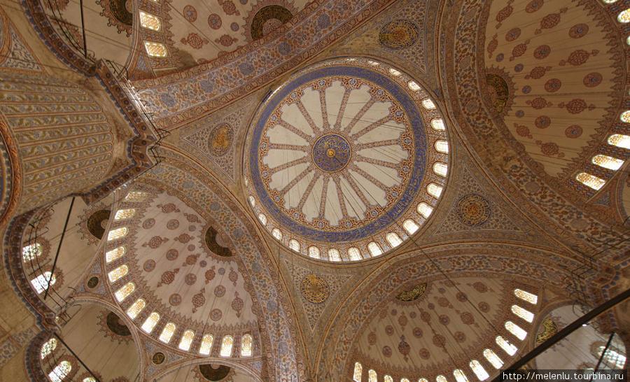 Голубая мечеть. Внутри го