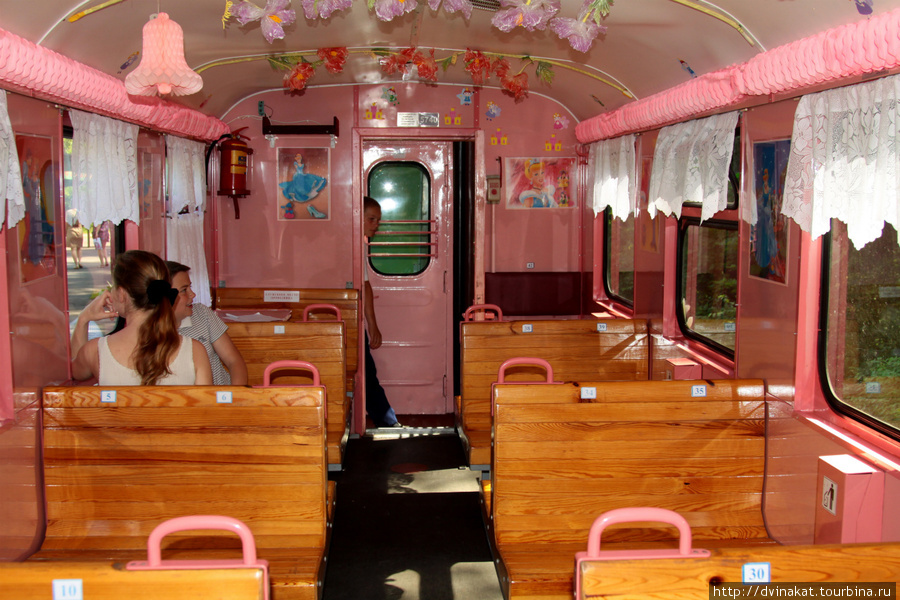 Бывает голубой вагон, а мы ехали в розовом...