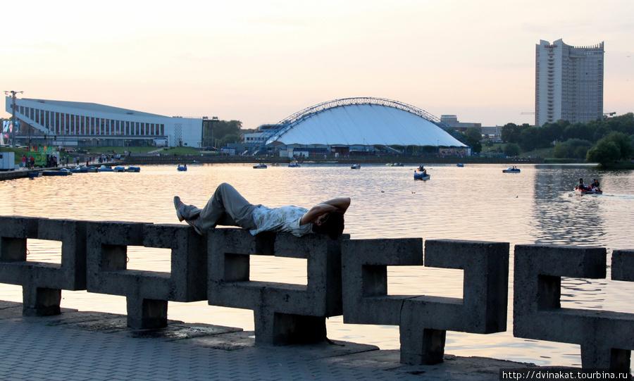 Минский городской пейзаж
