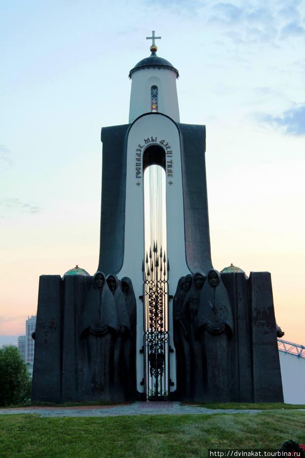 Памятник-часовня на Острове Слез