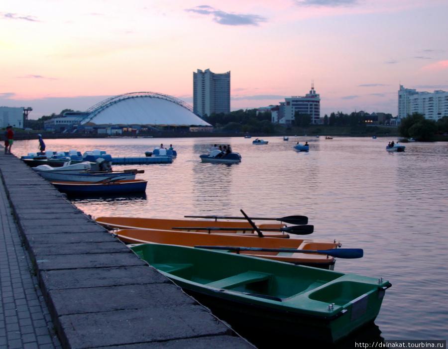 Набережная реки Свислочь