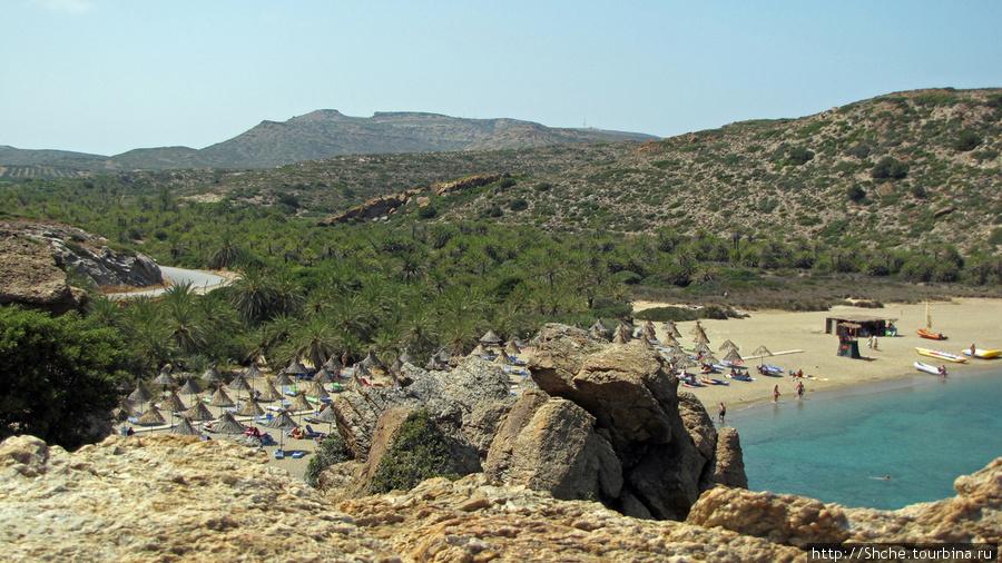 А вот и пляж