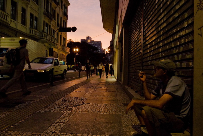Сан Паулу. Пробегая мимо. Сан-Паулу, Бразилия