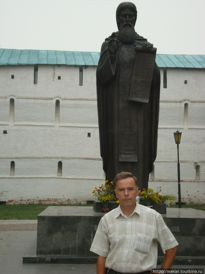 Сергиев Посад. Памятник С.Радонежскому.