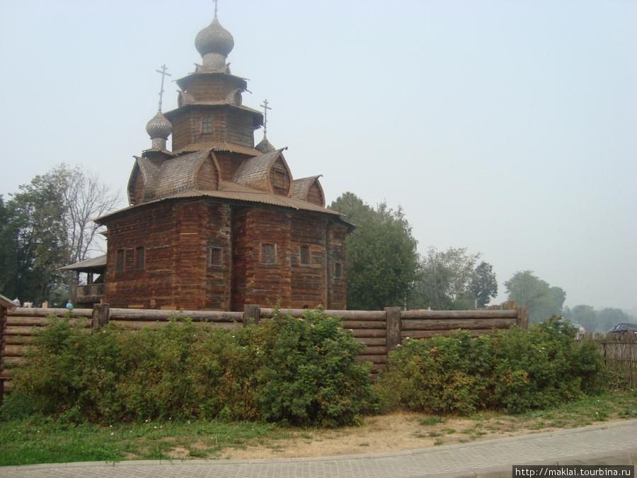 Суздаль. Музей деревянног