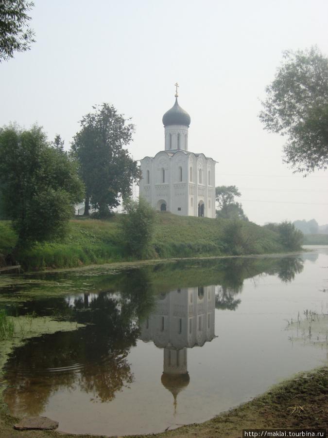 Боголюбово. Церковь Покро