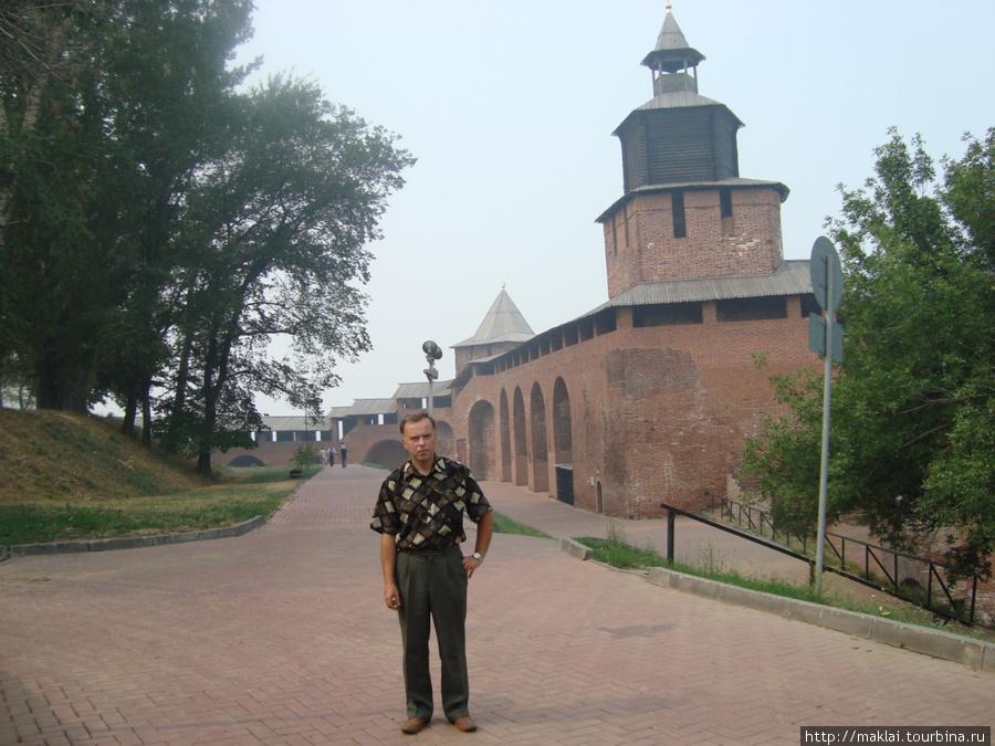 Н.Новгород. У кремлёвской стены.