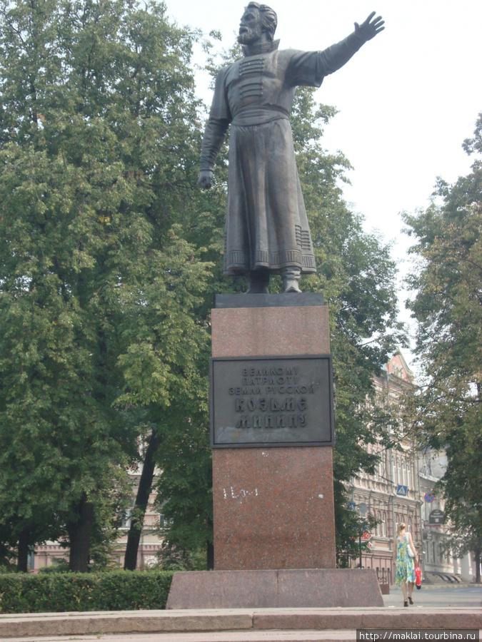 Н.Новгород. Памятник К.Минину.
