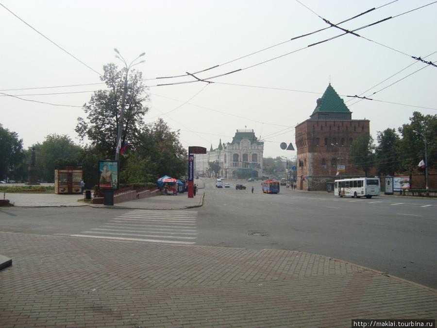 Н.Новгород. Городской вид.