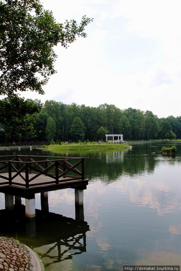 Озеро в ботаническом саду