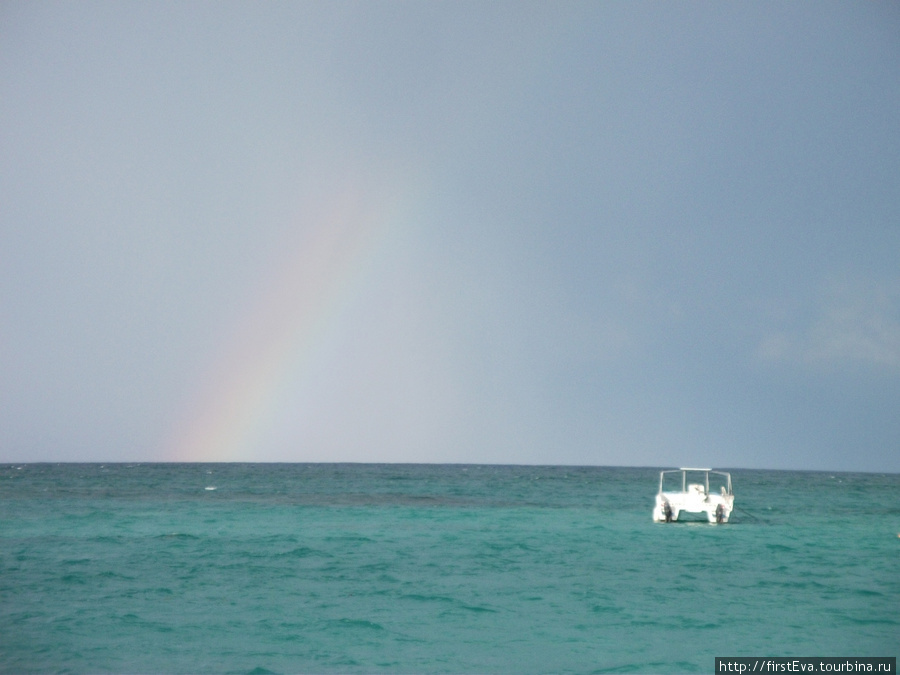 радуга над Атлантикой