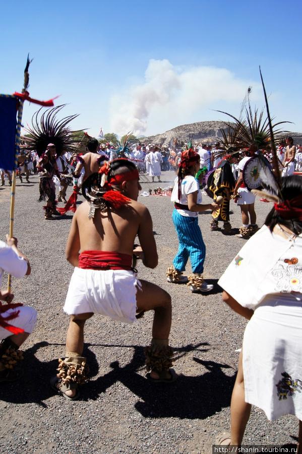 Пляски индейцев