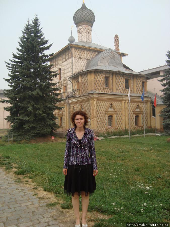 Ростов. Кремль. Церковь Одигитрии.