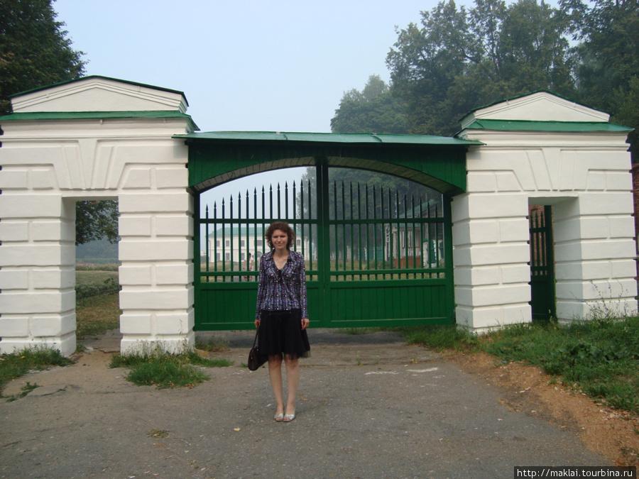 Усадьба Карабиха. Ворота усадьбы.