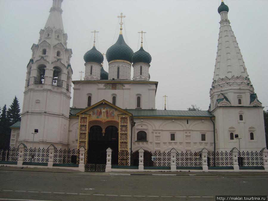 Ярославль. Церковь Ильи Пророка.