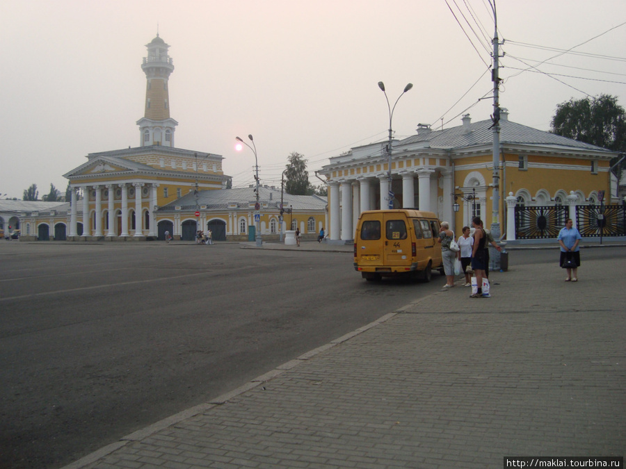 Кострома. Сусанинская площадь.