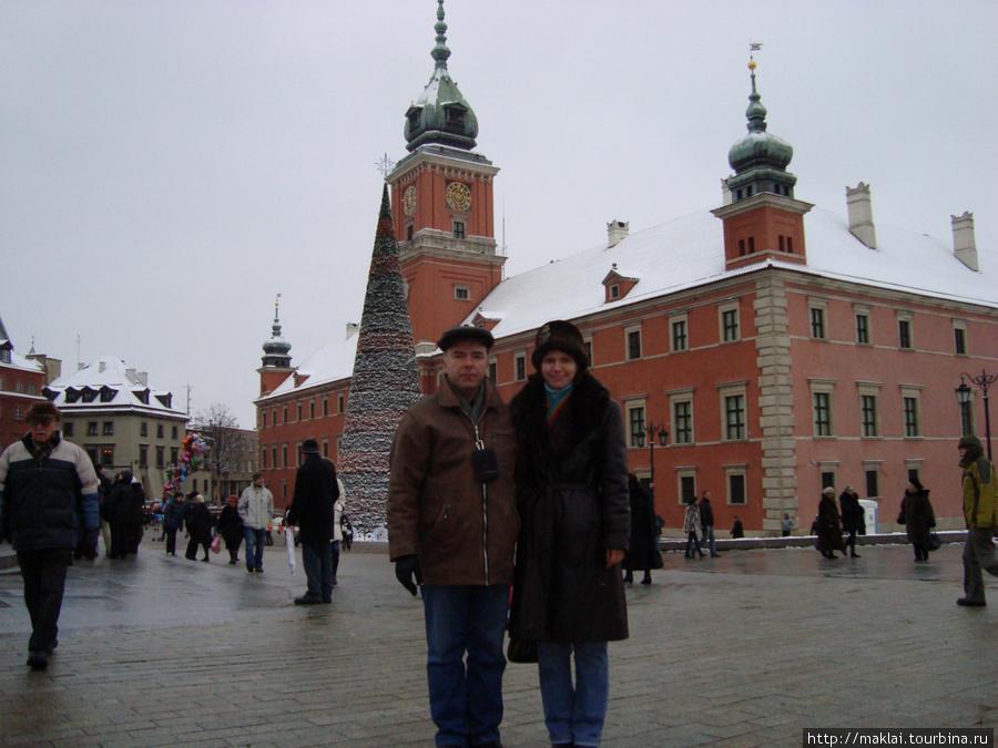 Варшава. Замковая площадь.