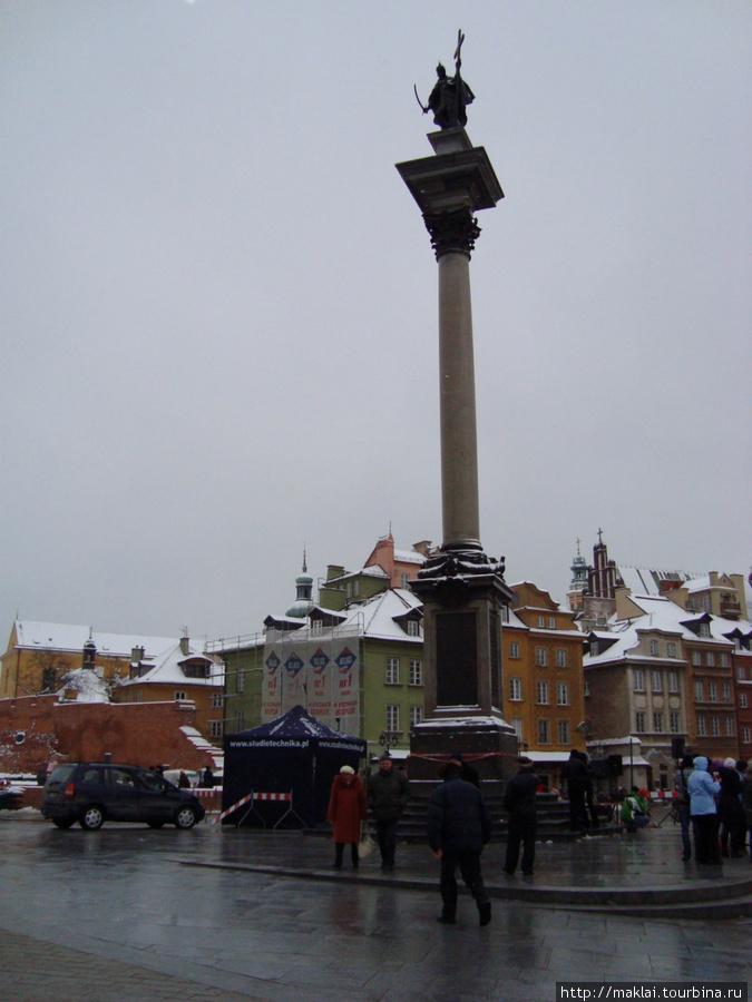 Варшава. Колонна Сигизмунда 3.