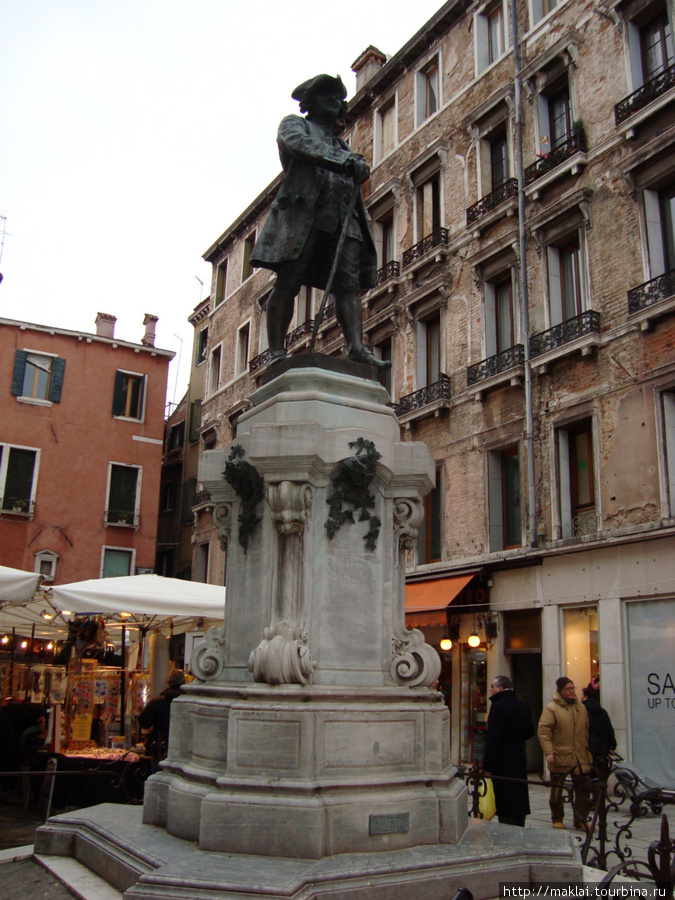 Венеция. Венецианский базарчик.