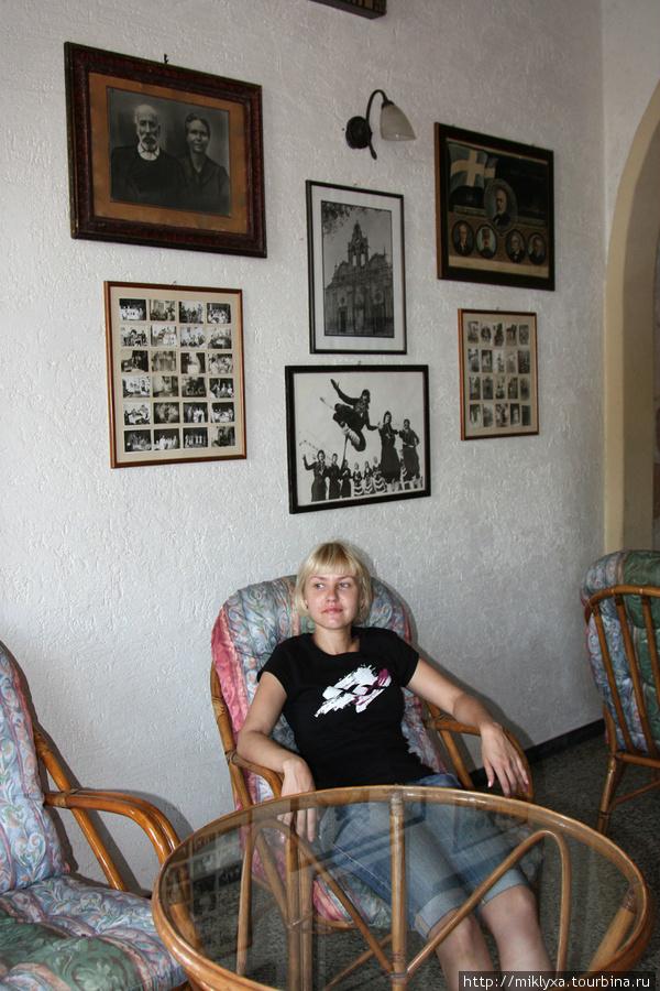 семейная кофейня в Perivolia