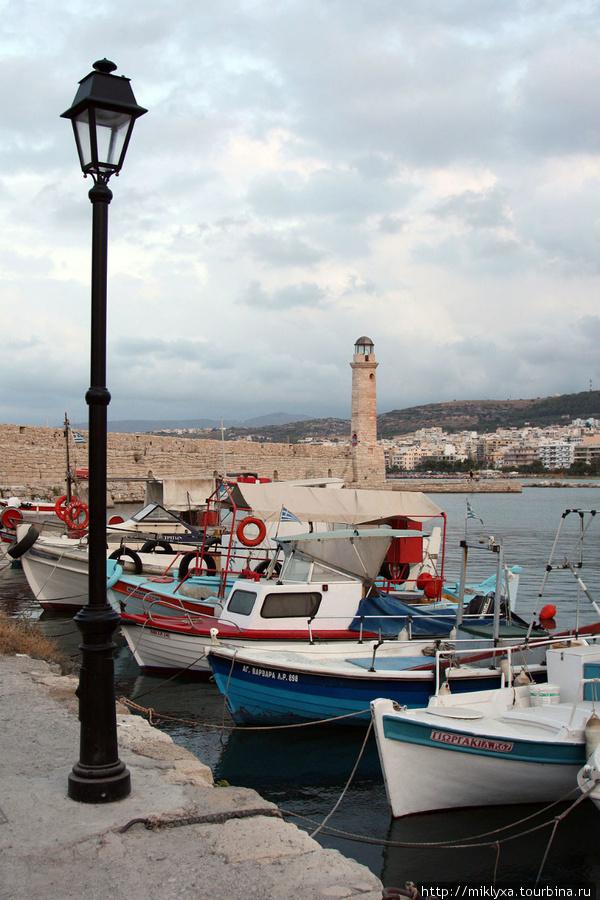 Венецианский порт Рефимно