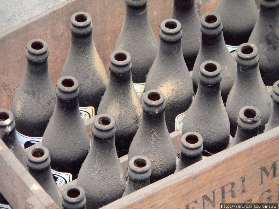Вековые бутыли
