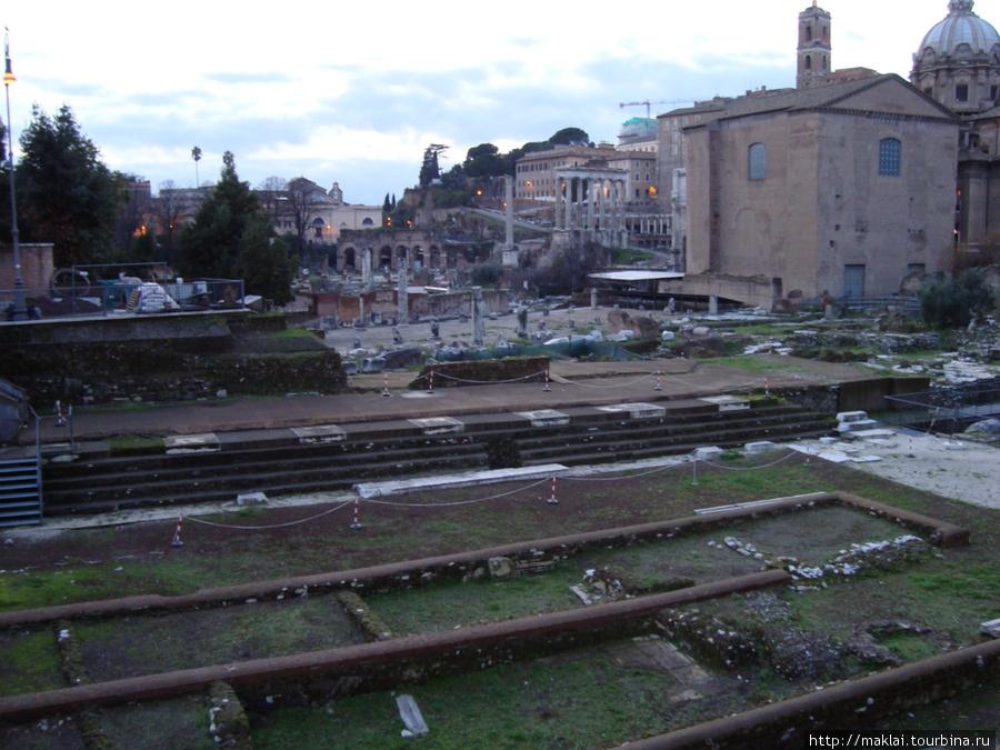Рим. Республиканский форум.