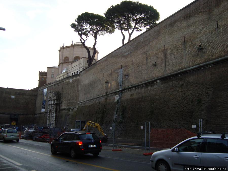 Рим. На подходе к государству Ватикан.