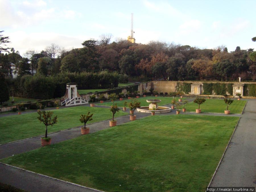 Ватикан. Папские сады.