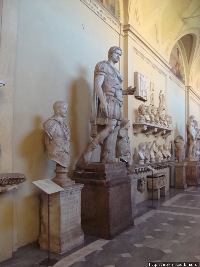 Ватиканский музей. Древнеримская скульптура.