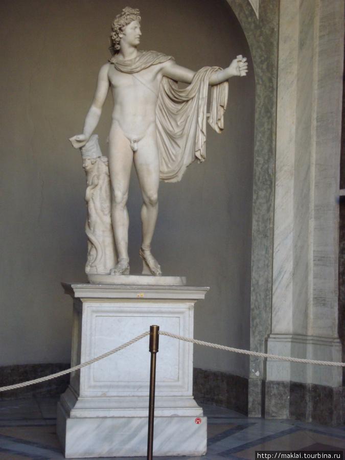 Ватиканский музей. Аполлон Бельведерский.