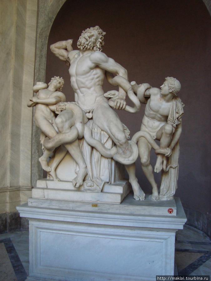 Ватиканский музей. Лаокоон.