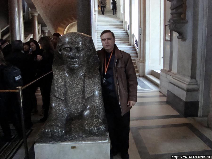 Ватиканский музей. Сфинкс- тоже мой приятель!